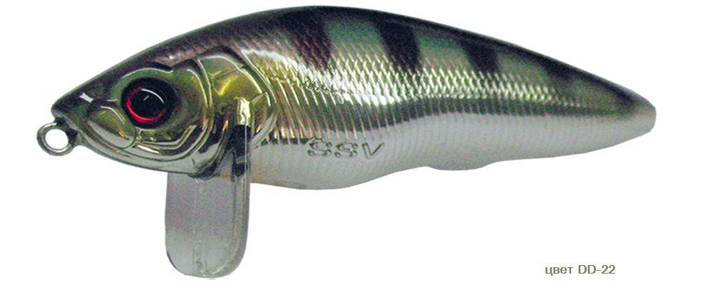 плавающий воблер на щуку с заглублением на 0.5 метра